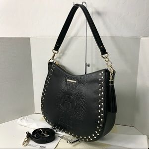 Brahmin Daphne Shoulder Bag BLACK WINSTON New